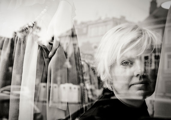 Portrait of Val Pollet, designer of the brand 'Mais il est où le soleil?'